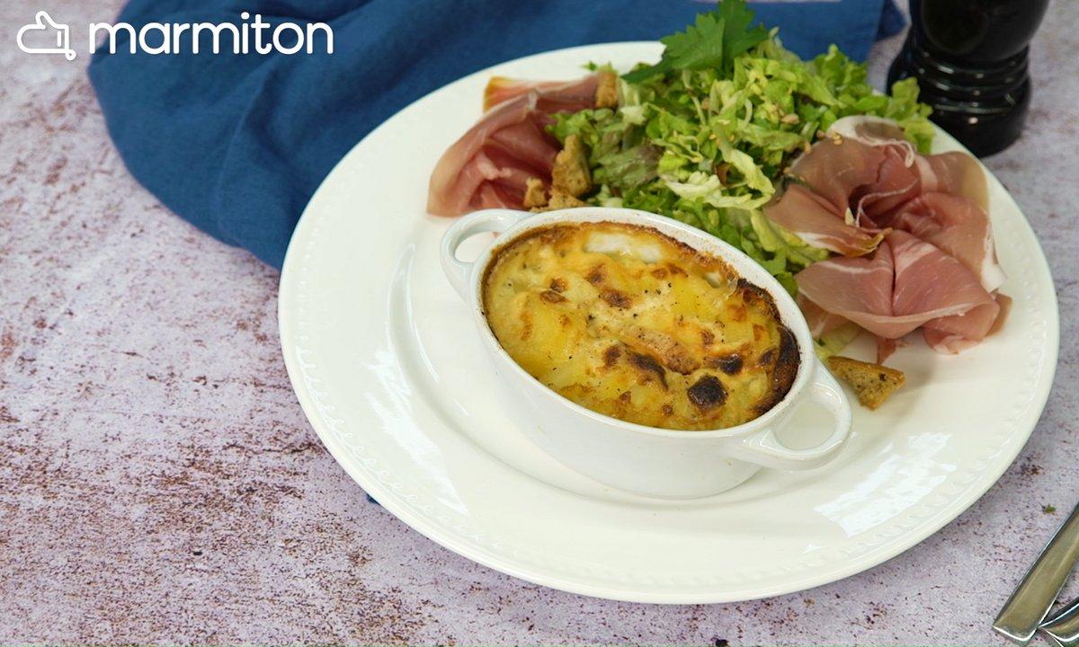 Dans la cuisine N°6 – Cassolettes de pommes de terre au maroilles (Nord)