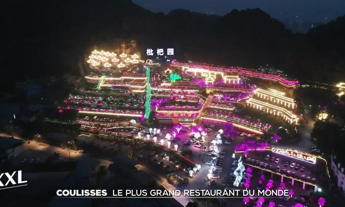 Dans les coulisses de l'un des plus grands restaurants du monde en Chine