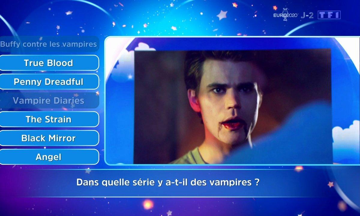 Dans quelles séries y-a-t-il des vampires ?