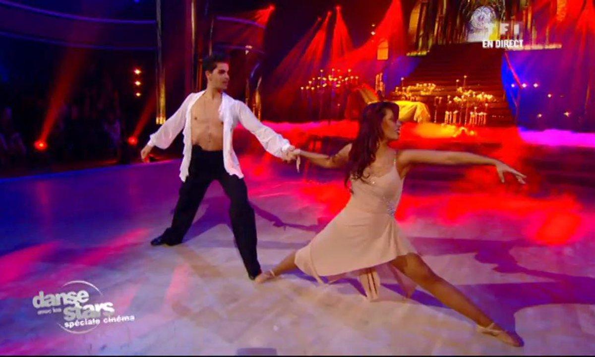 """Amel Bent et Christophe, un american smooth sur """"Kissing you"""" (Romeo et Juliette)"""