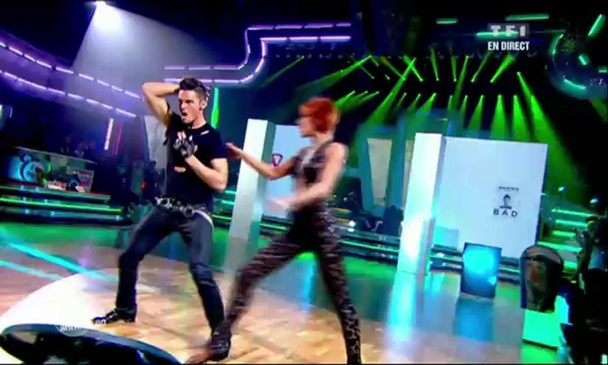 Baptiste Giabiconi et Fauve Hautot dansent un paso doble sur Bad (Michael Jackson)
