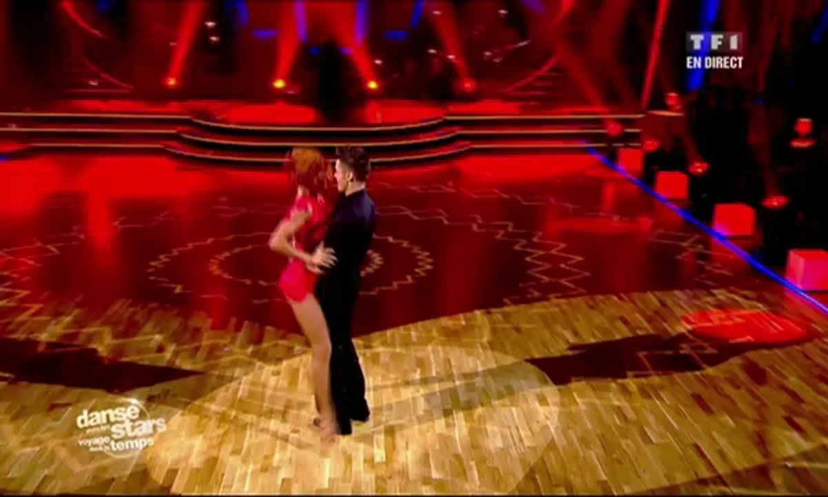 Baptiste Giabiconi/Fauve Hautot et Francis Lalanne/Silvia Notargiacomo dansent un tango sur Jalousie