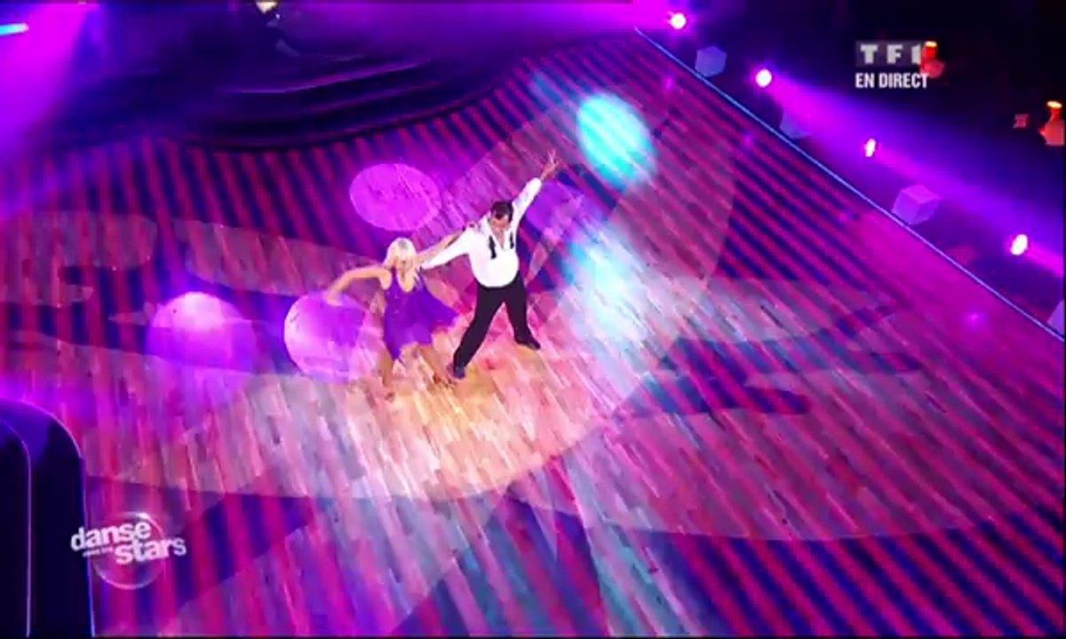 Cédric Pioline et Katrina Patchett dansent une rumba sur Rolling in the Deep (Adele)