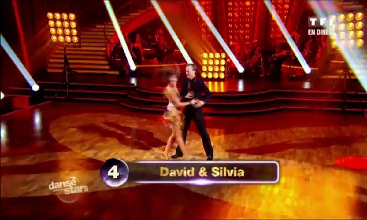David Ginola et Silvia Notargiacomo dansent un jive sur Gabrielle (Johnny Hallyday)
