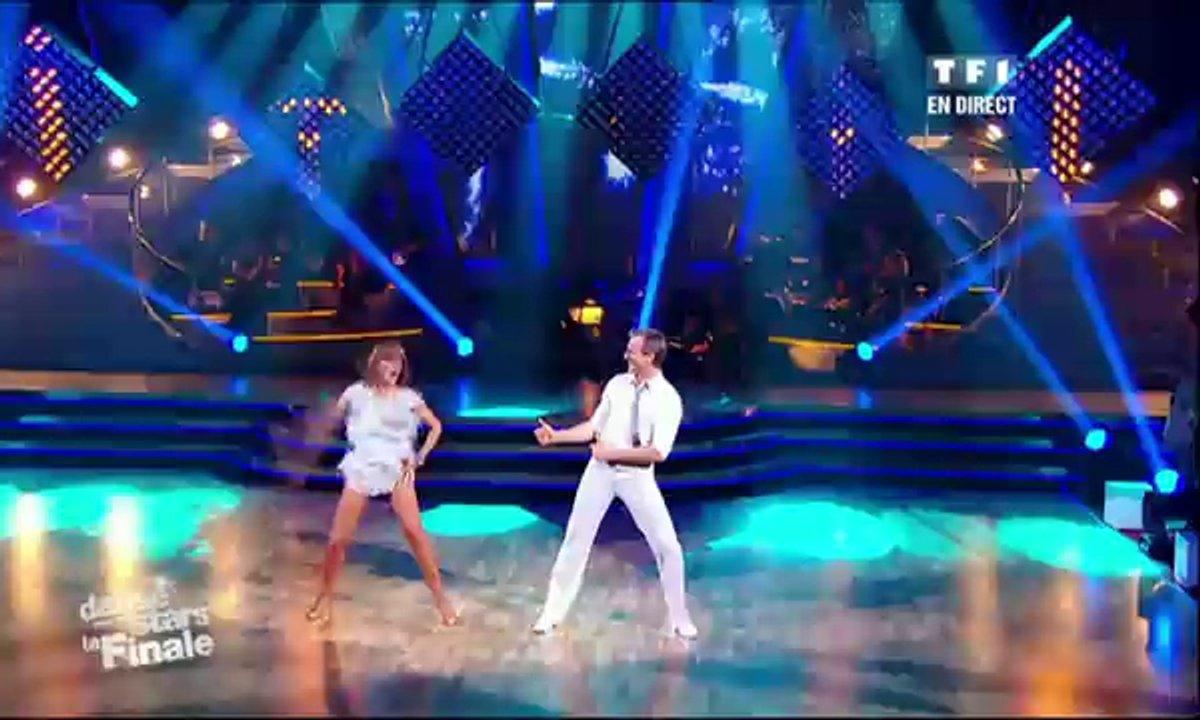 David Ginola et Silvia Notargiacomo dansent un jive sur Pump It (The Black Eyed Peas)