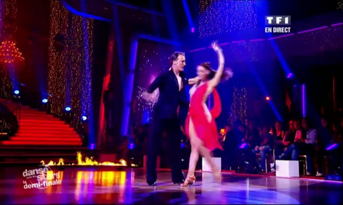 David Ginola et Silvia Notargiacomo dansent une rumba sur Endless Love (Lionel Richie)