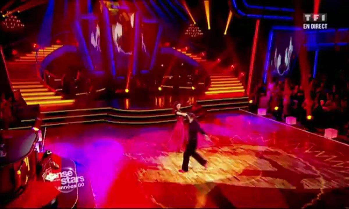 Francis Lalanne et Silvia Notargiacomo dansent un paso doble sur Let's Dance (David Bowie)