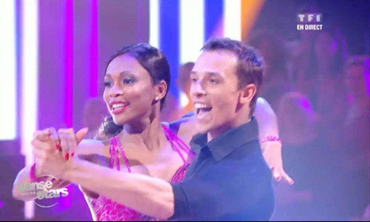 Laura Flessel et Grégoire,  un tango  sur « Sara perche ti amo»