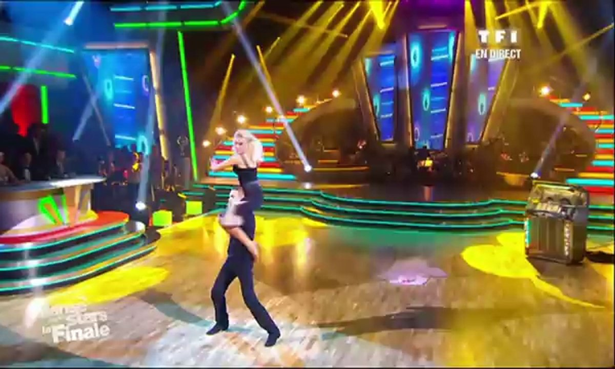 M. Pokora et Katrina Patchett dansent un freestyle sur You're the One That I Want (Grease)