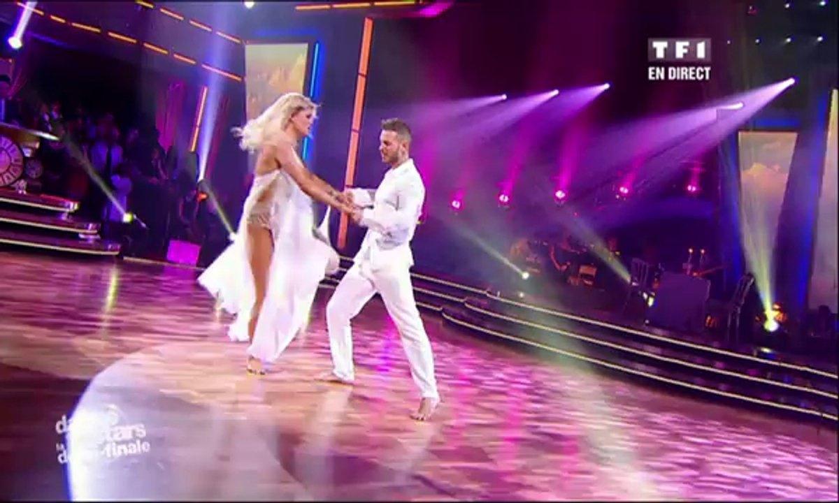 M. Pokora et Katrina Patchett dansent une rumba sur Angels (Robbie Williams)
