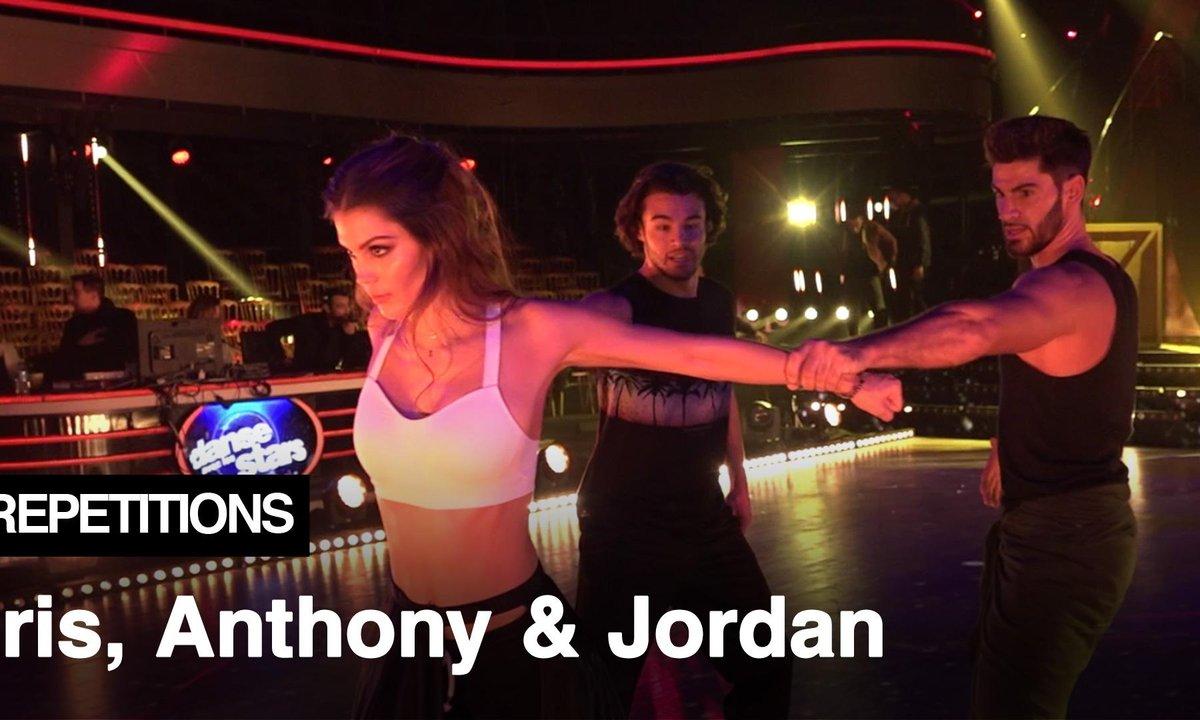 """Répétitions - """"On s'entend très bien"""" Iris Mittenaere, Anthony Colette et Jordan Mouillerac"""