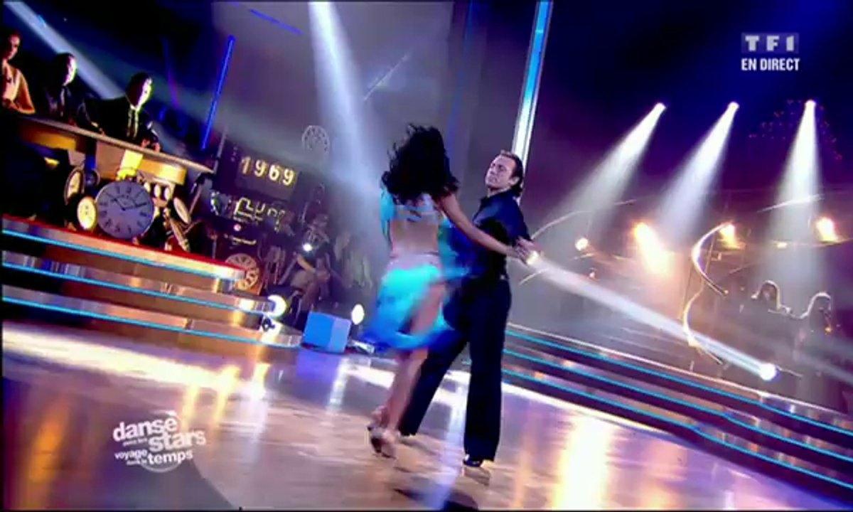 Philippe Candeloro et Candice Pascal dansent une rumba sur Que je t'aime (Johnny Hallyday)