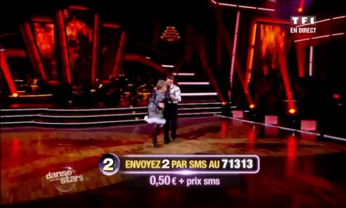 Rossy de Palma/Christophe Licata et Marthe Mercadier/Grégoire Lyonnet dansent un tango sur Objection (Shakira)