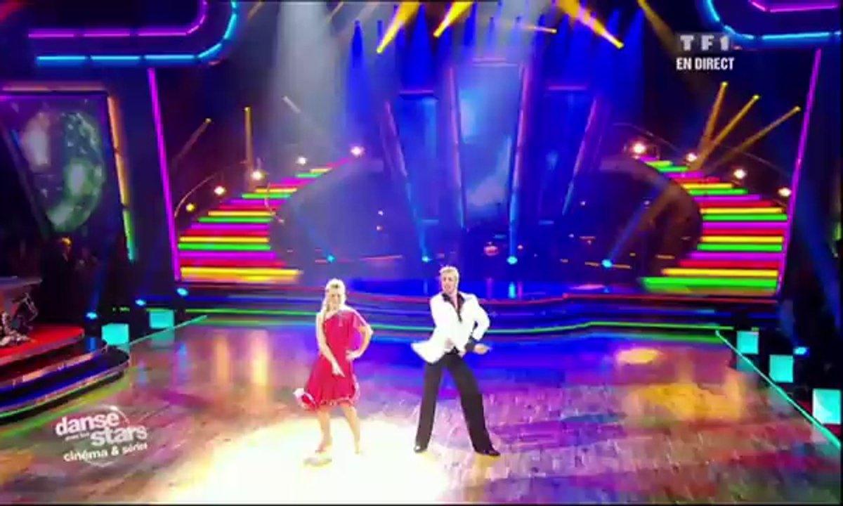 Sheila et Julien Brugel dansent un cha-cha-cha sur les Bee Gees