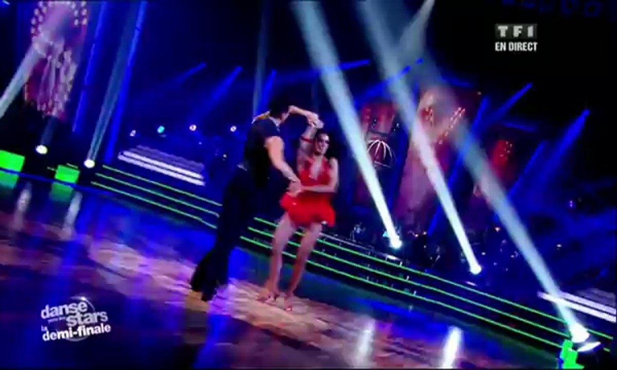 Shy'm et Maxime Dereymez dansent un cha-cha-cha sur When I Grow Up (The Pussycat Dolls)