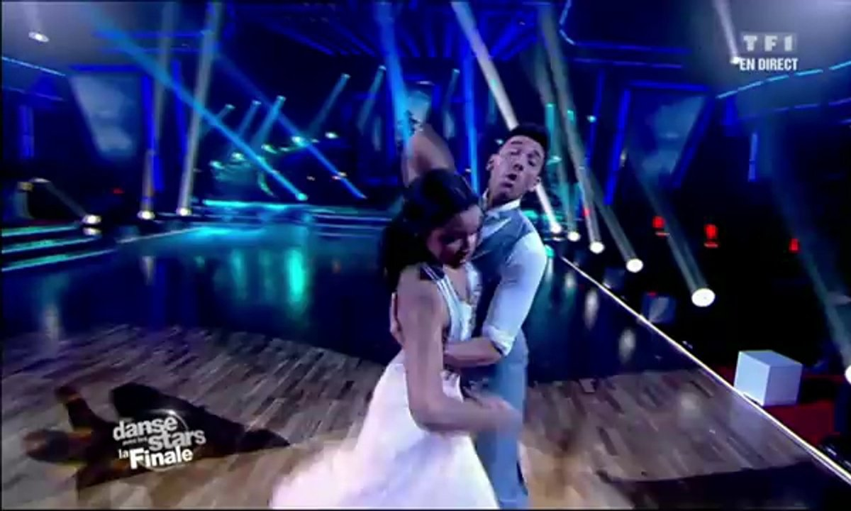 Shy'm et Maxime Dereymez dansent un fox-trot sur E.T.