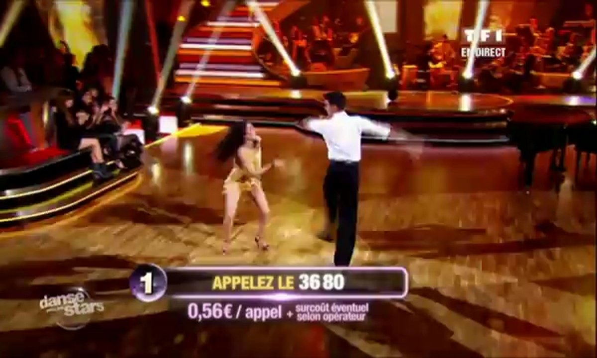 Sofia Essaïdi et Maxime Dereymez dansent un jive sur Great Balls of Fire (Jerry Lee Lewis)