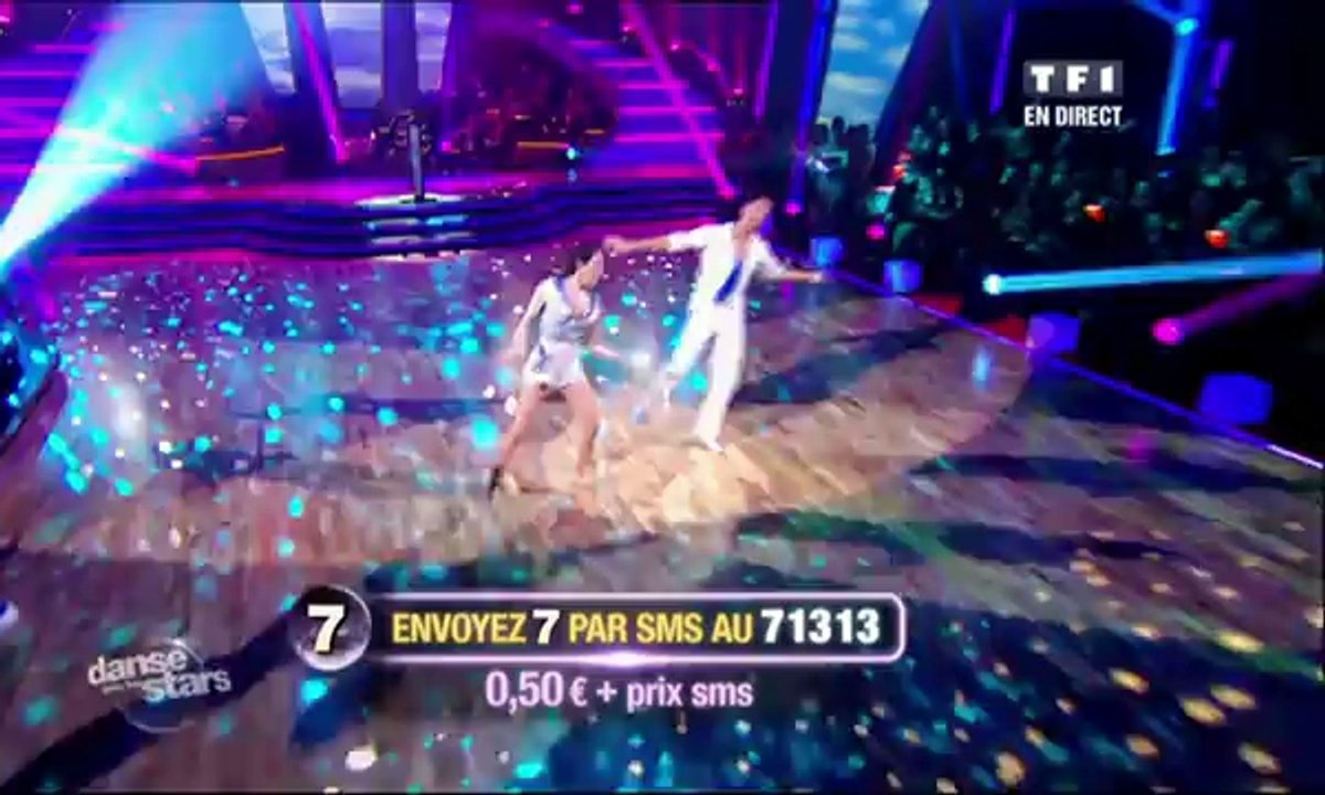 Sofia Essaïdi et Maxime Dereymez dansent un quickstep sur Anything Goes (Cole Porter)