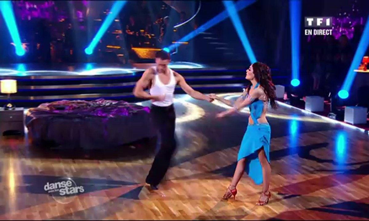 Sofia Essaïdi et Maxime Dereymez dansent une rumba sur Comme d'habitude (Claude François)