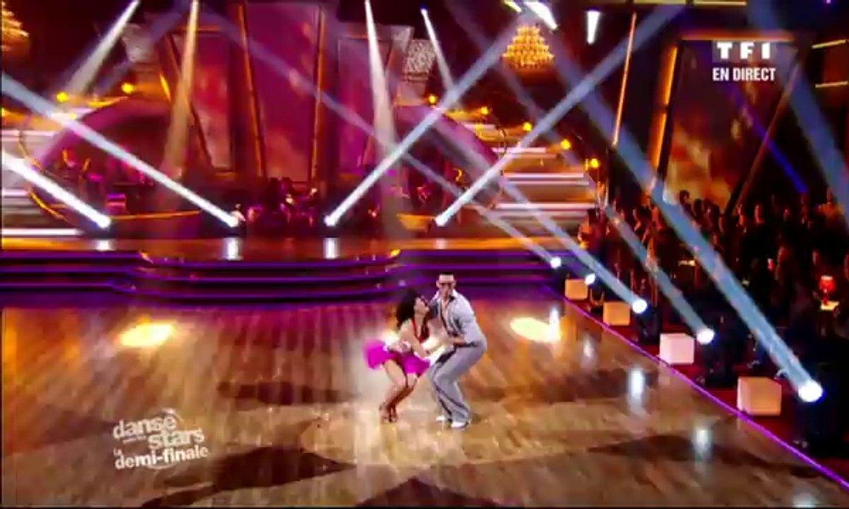 Sofia Essaïdi et Maxime Dereymez dansent une salsa sur Mambo n°5 (Lou Bega)