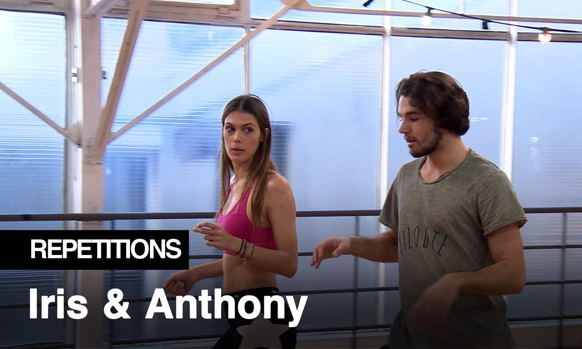 Répétitions - « T'as cru que j'allais danser comme Michaël Jackson » Iris Mittenaere et Anthony Colette