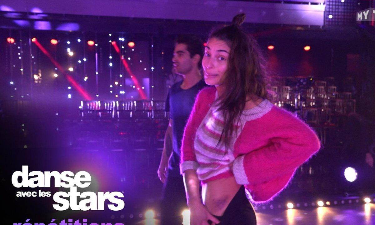 Tatiana Silva et Christophe Licata : c'est dangereux de danser avec Christophe !