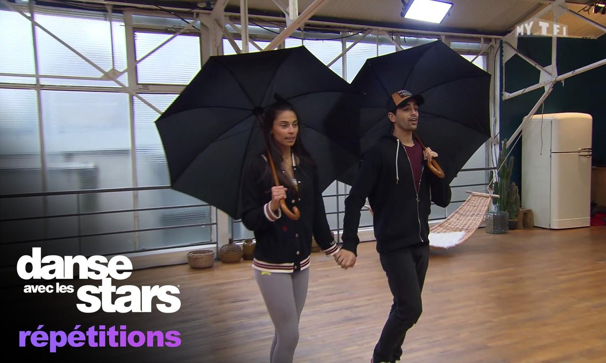 Tatiana Silva et Christophe Licata : « Mais qu'est-ce que tu fous avec ton parapluie ? »