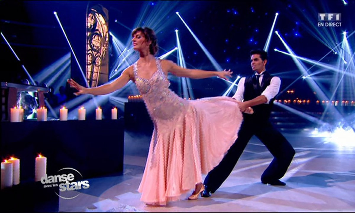 Un foxtrot pour Laetitia Milot et Christophe Licata sur « Candle in the wind » - Elton John