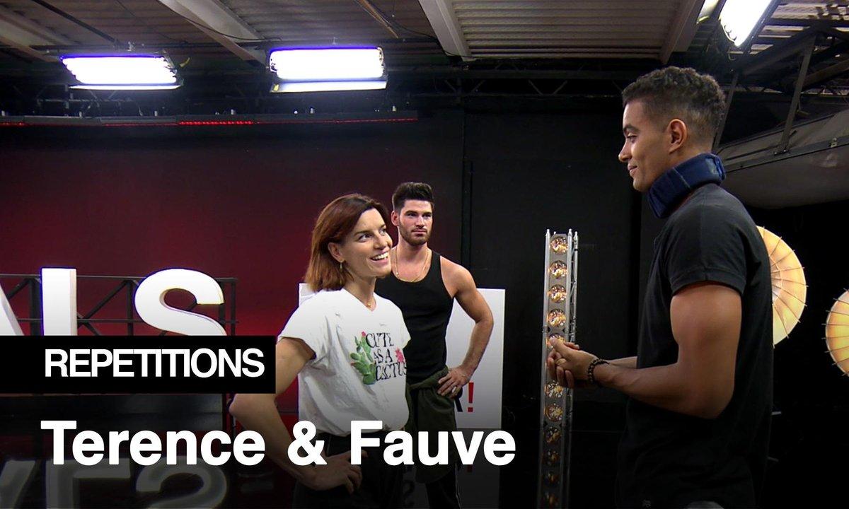Répétitions - Terence Telle, dansera-t-il jeudi soir ?