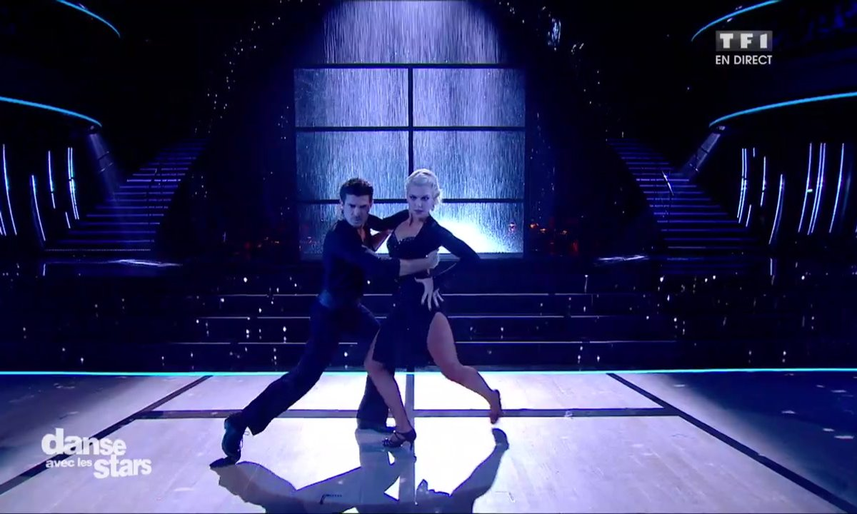 Un Tango pour Vincent Niclo et Katrina Patchett sur « Here Comes The Rain Again » (Eurythmics)