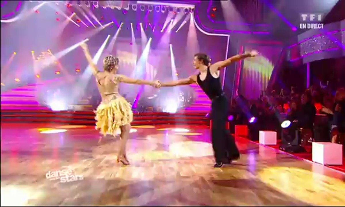 Véronique Jannot et Grégoire Lyonnet dansent un cha-cha-cha sur Firework (Katy Perry)
