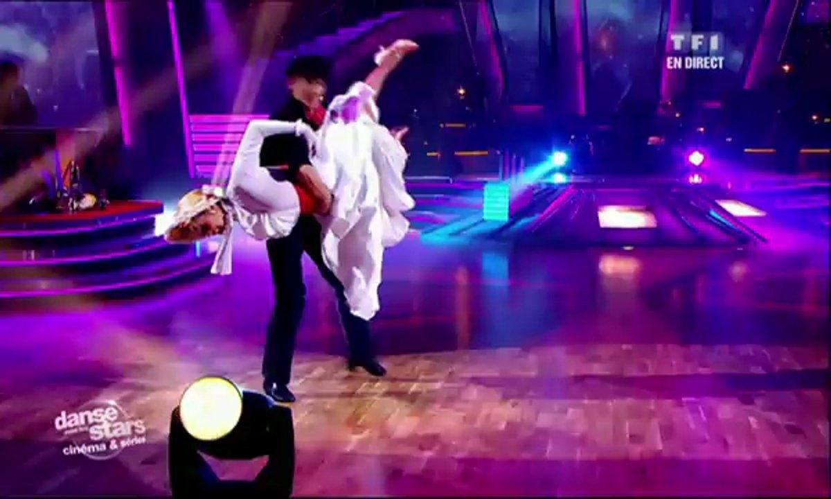 Véronique Jannot et Grégoire Lyonnet dansent un quickstep sur Supercalifragilisticexpialidocious (Mary Poppins)