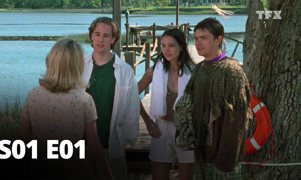 Dawson - S01 E01 - Rencontre de la 2ème fille