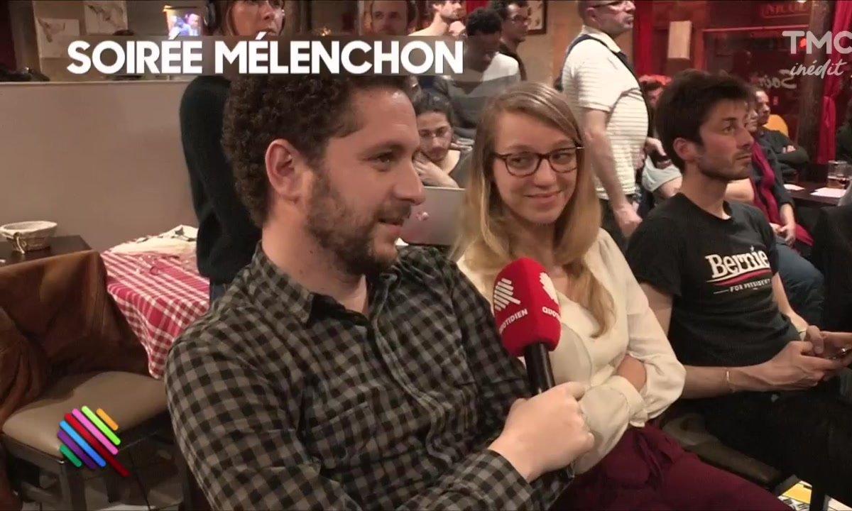 Le débat : vu du QG de Jean-Luc Mélenchon