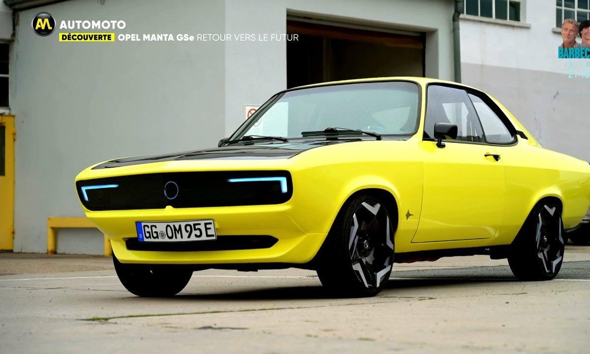 Découverte : Opel fait renaître la Manta