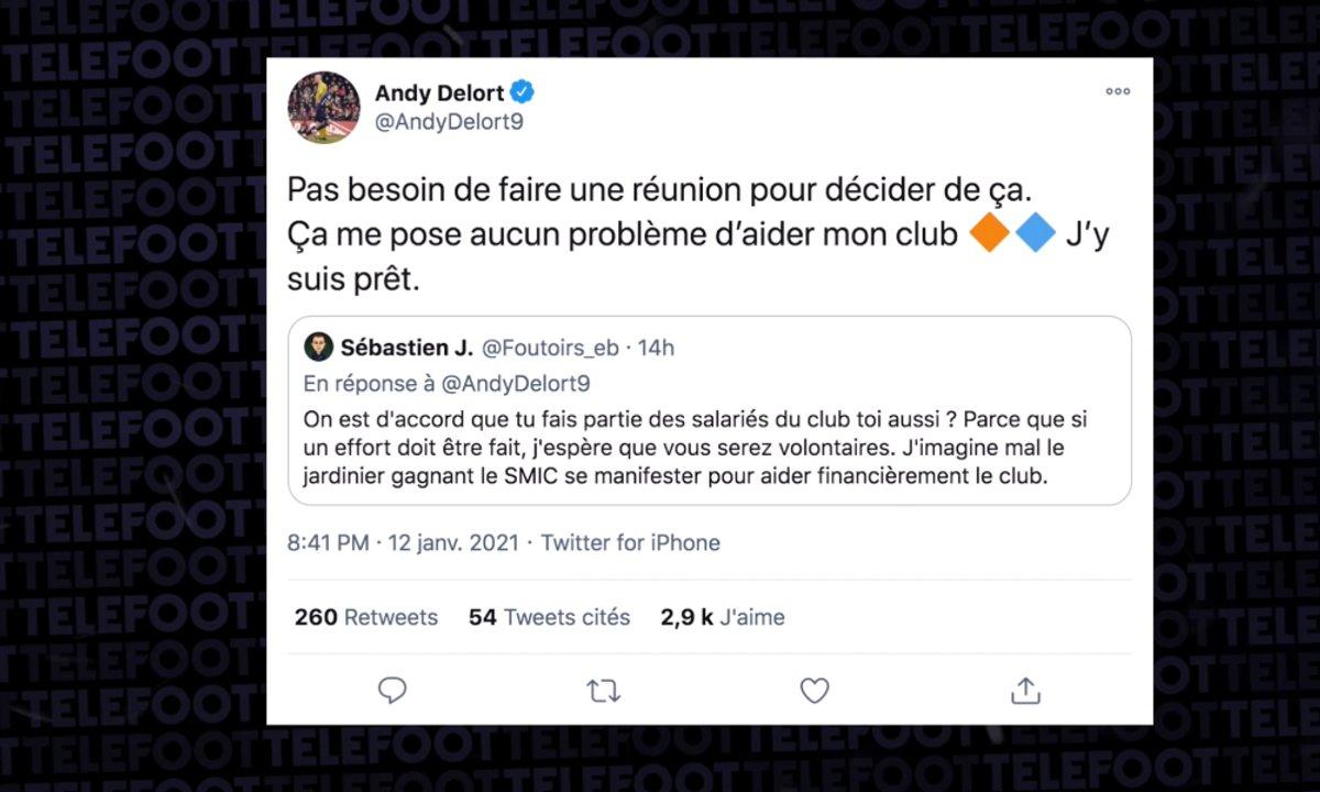 VIDEO - Le beau geste d'Andy Delort pour Montpellier
