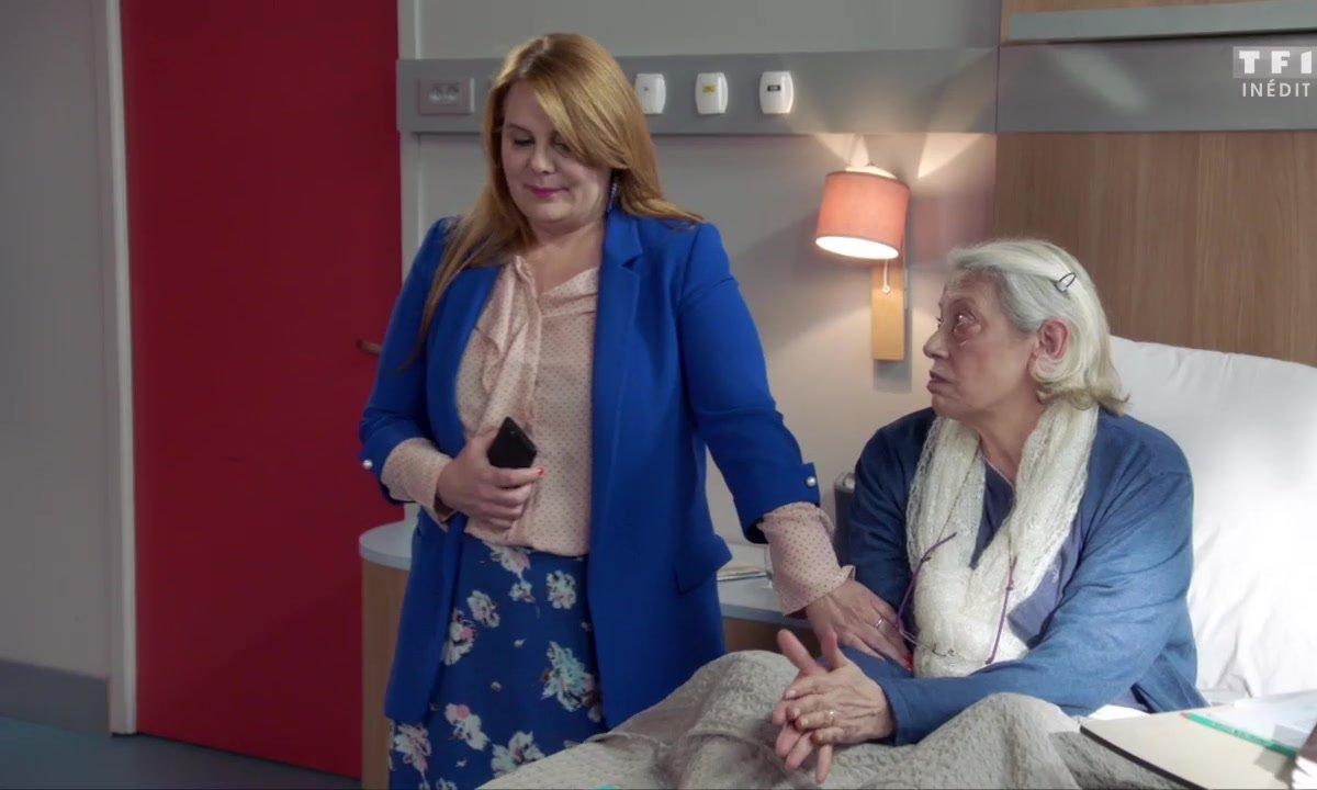 Les premiers pas difficiles de Christelle à l'hôpital (épisode 220)