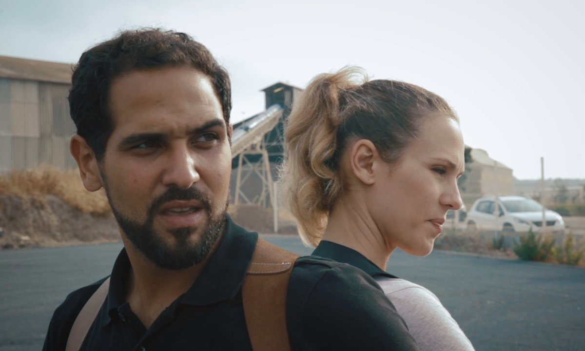 Le lieutenant Lucie Salducci et le capitaine Karim Saeed