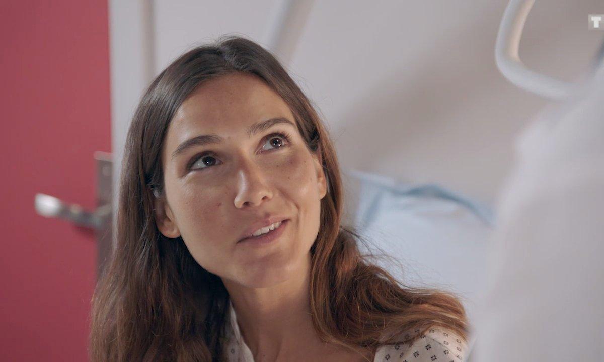 Exclu ! La première scène de Joyce Jonathan dans le rôle d'Emma Trévise