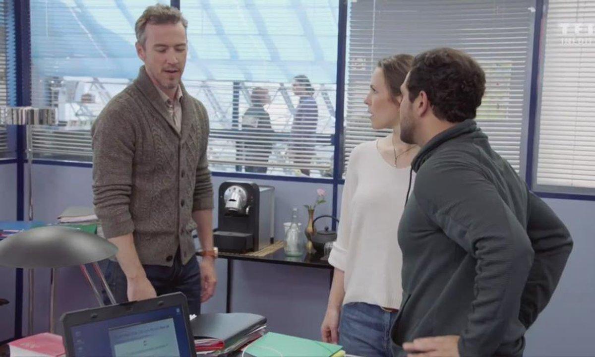 Karim tente de convaincre Lucie sur l'identité de Marc (épisode 187)