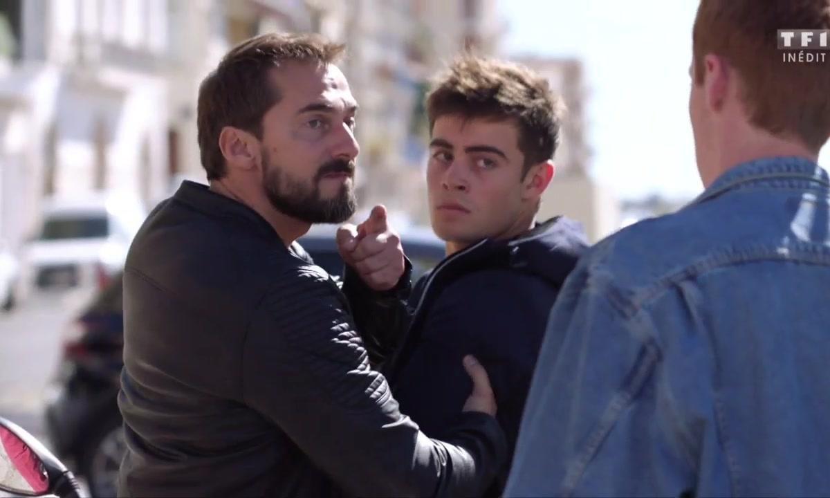 Maxime est intercepté par Martin