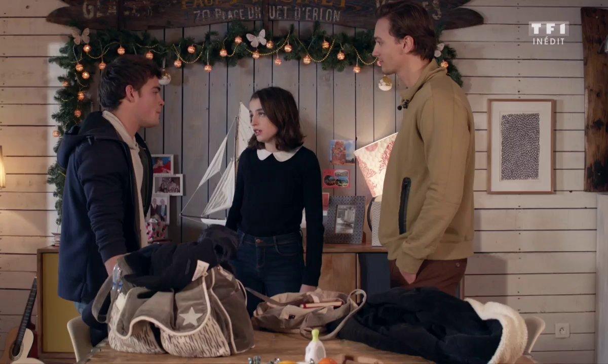 Maxime surprend Enzo la main dans le sac de Célia !