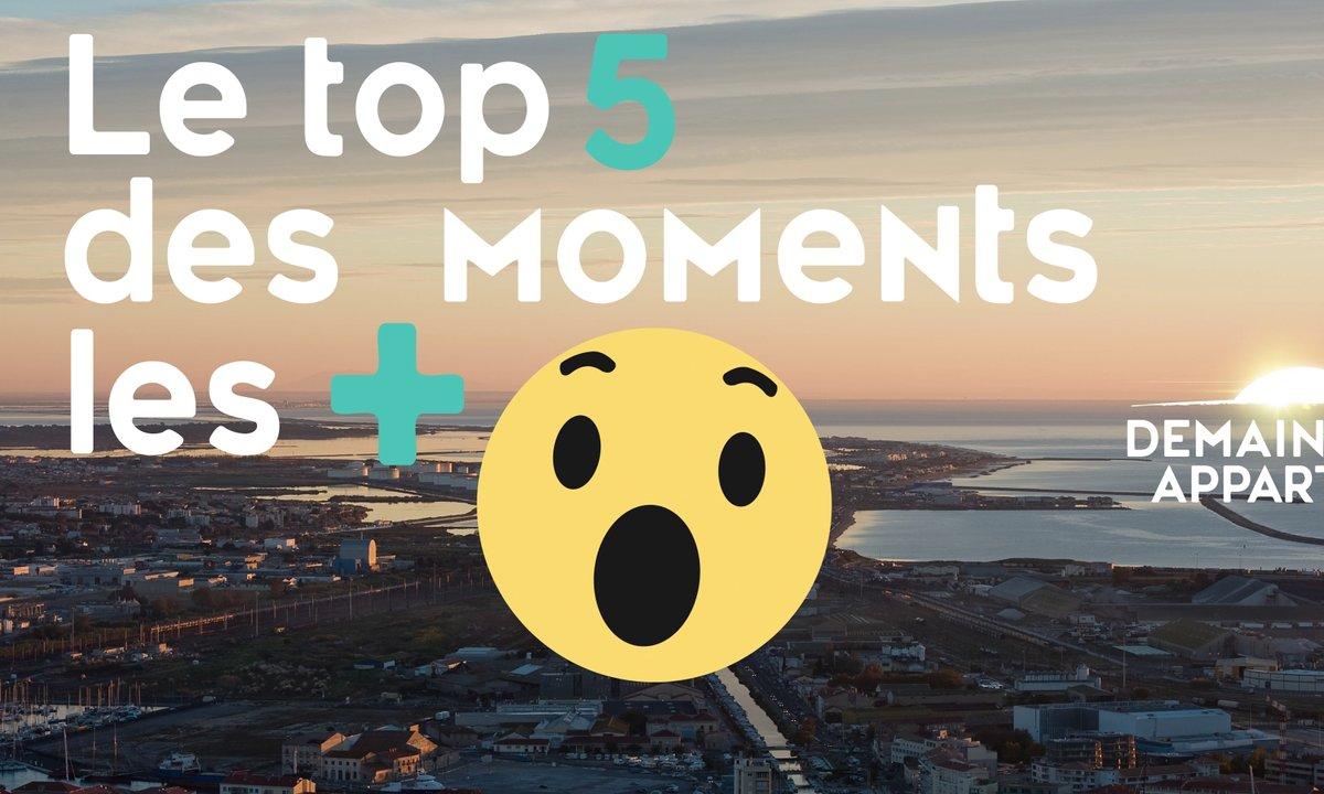 Le TOP 5 des moments les plus Waouh