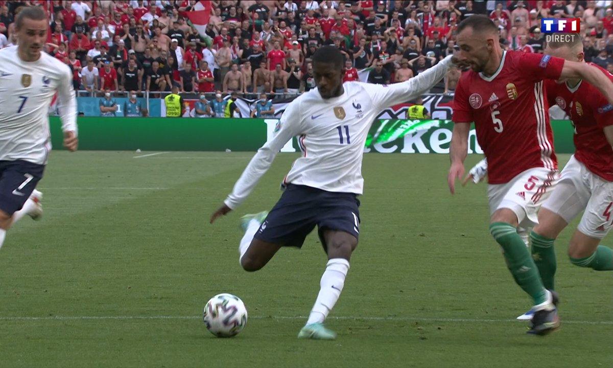 Hongrie - France (1 - 0) : Voir la frappe sur le poteau de Dembélé en vidéo