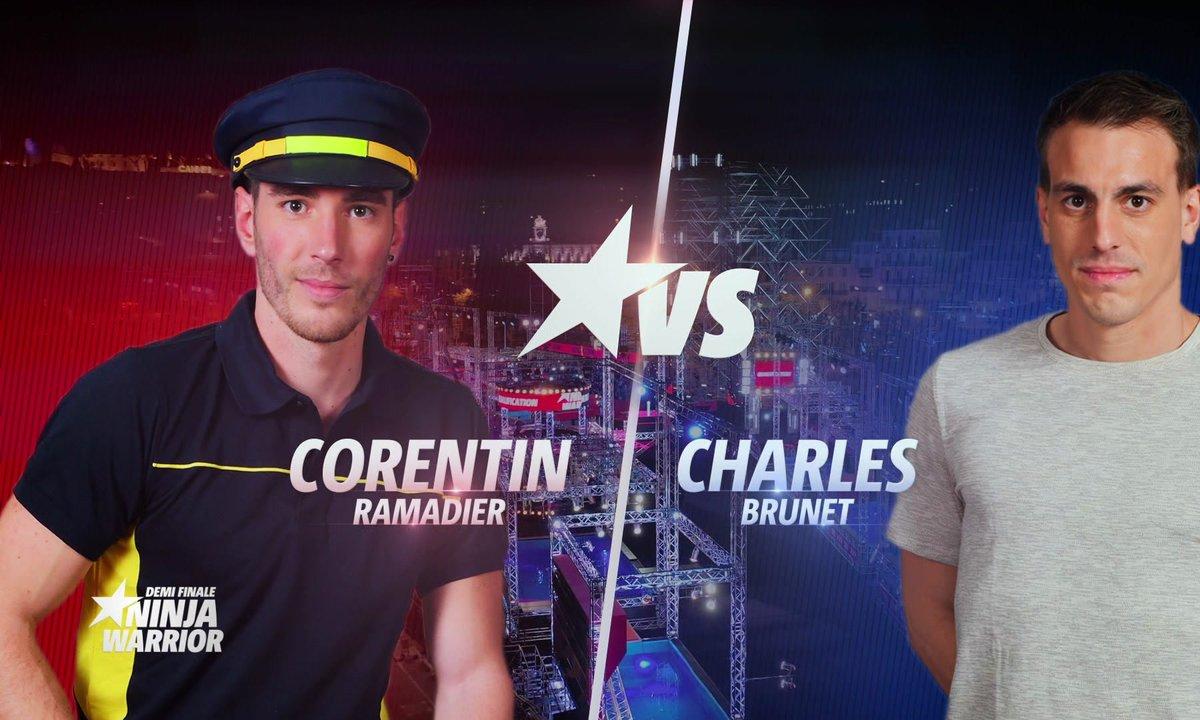 Demi-finale : Corentin Ramadier VS Charles Brunet motivés pour battre un record