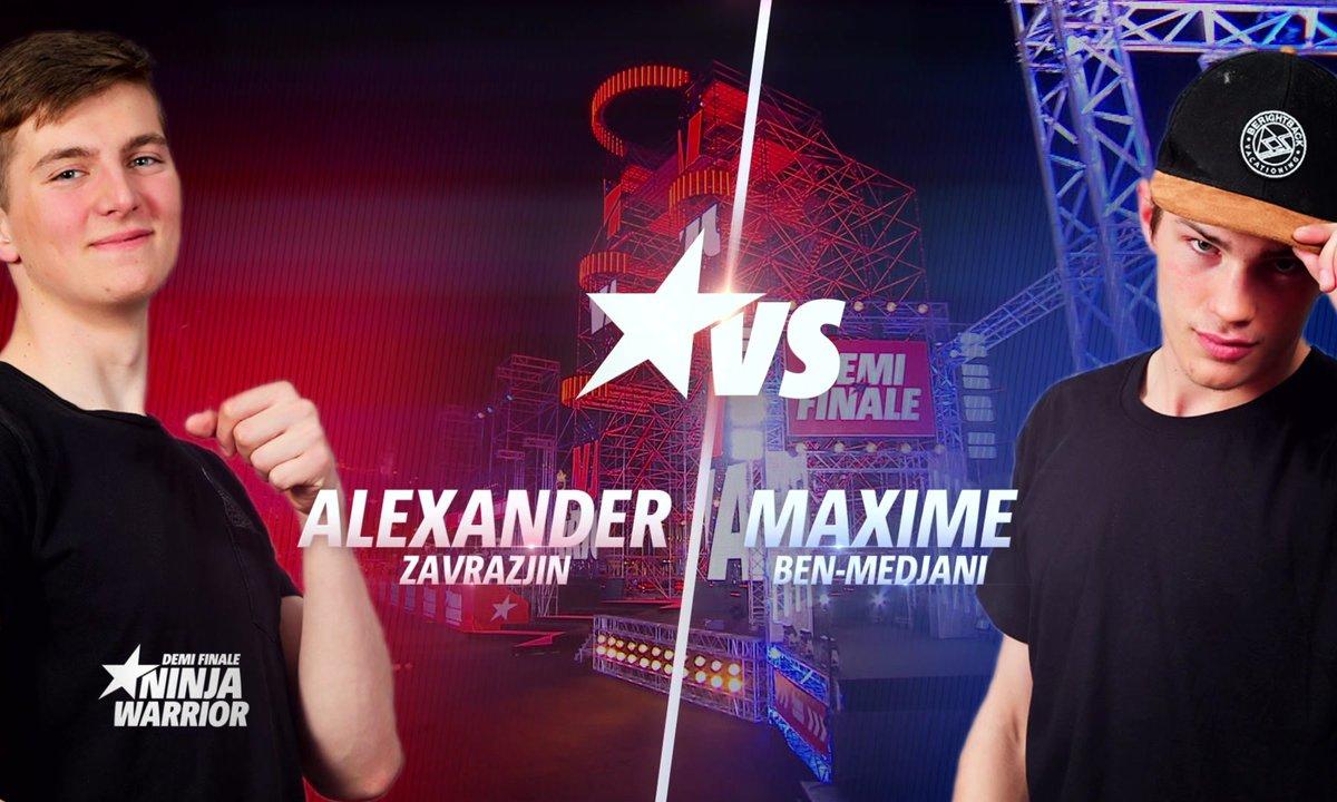 Demi-finale : Maxime Ben Medjani VS Alexander Zavarzin