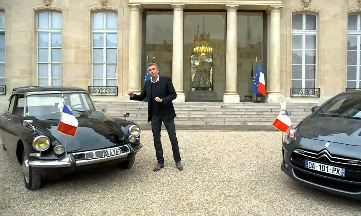 Teaser : Automoto à l'Elysée avec les voitures présidentielles