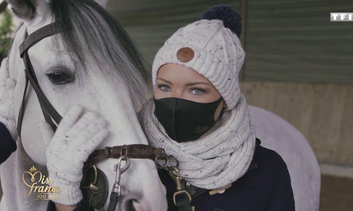 Des Miss et des chevaux (en vidéo) - Miss France 2021