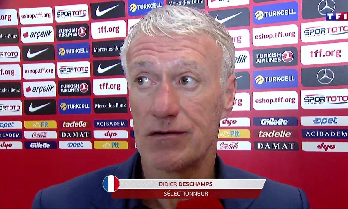"""Turquie - France D. Deschamps : """"Y'a rien à retenir de positif"""""""