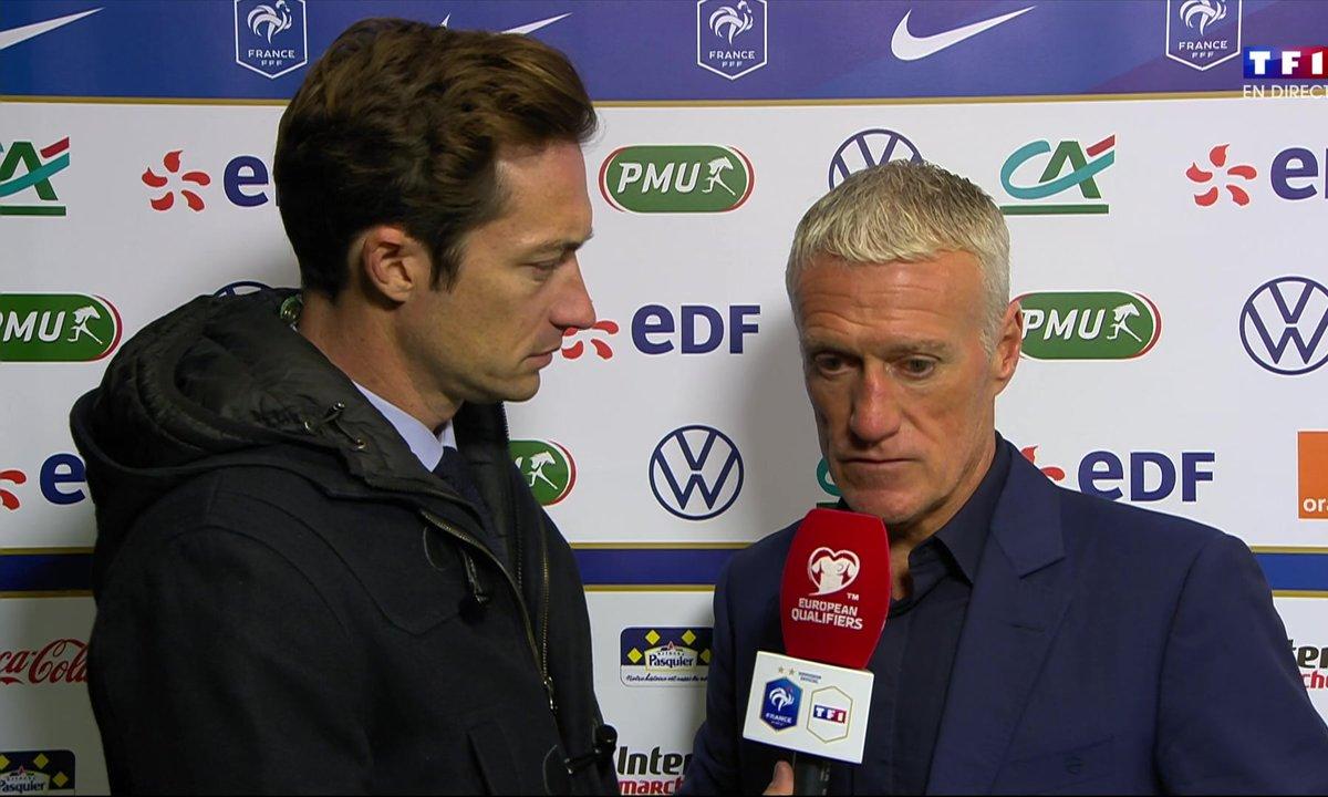 Islande - France (0 - 1) : Voir la réaction de Didier Deschamps en vidéo